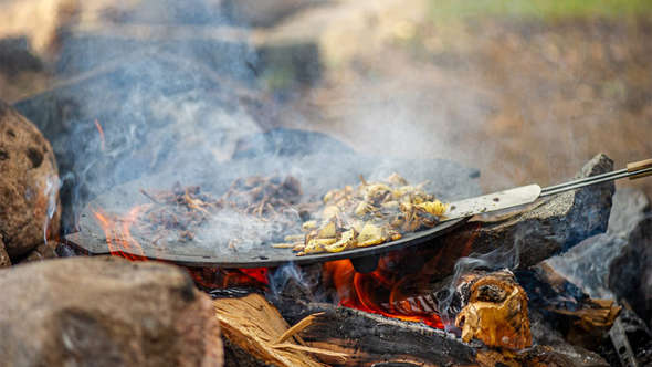 Outdoor cooking, naturebyandreas